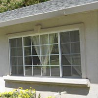 Accent your window trim and sill with a Keystone